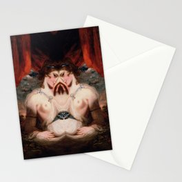 Grotesque Symmetry 3 Stationery Cards
