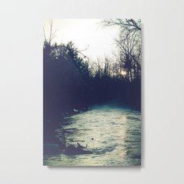 Through The Dark Metal Print