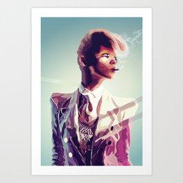 suit cigg Art Print