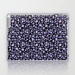 Terrazzo in Lilacs and Black Laptop & iPad Skin