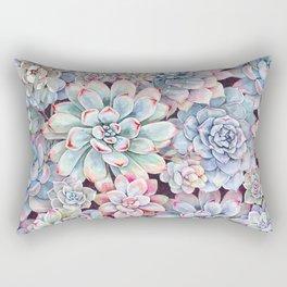 succulent garden 3 Rectangular Pillow