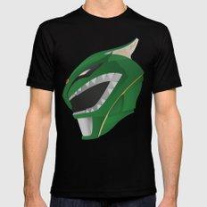 Green Ranger Redux Black MEDIUM Mens Fitted Tee