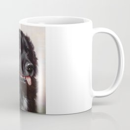 The Newfoundland Dog - Carl Reichert Coffee Mug