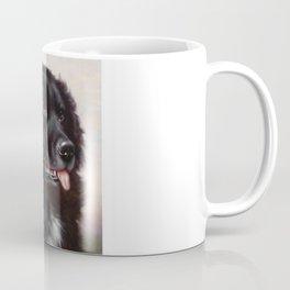 The Newfoundland Dog - Carl Reichert Coffee Mug