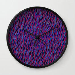 Globular Field 1 Wall Clock