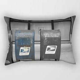 chicago mailboxes Rectangular Pillow