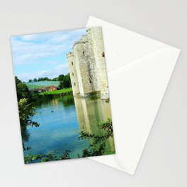 Castle and it's Moat Stationery Cards