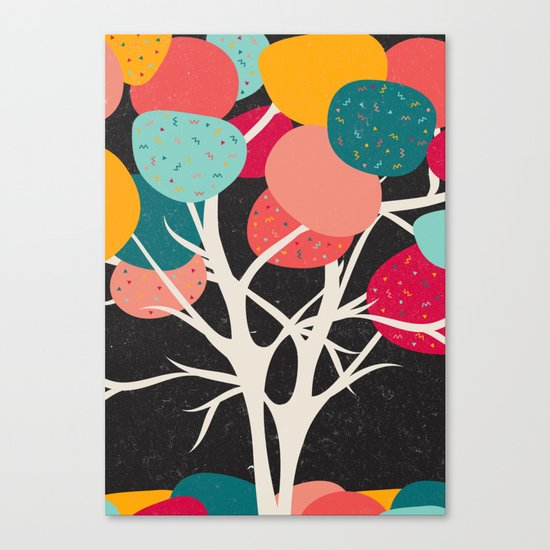 Lovely Tree Canvas Print
