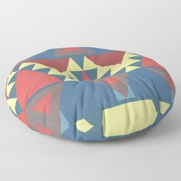 Art deco - Miami inspiration Floor Pillow