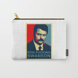 Ron F***ing Swanson Carry-All Pouch