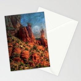 Van Goghs Sedona Vortex Stationery Cards