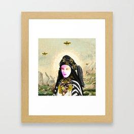Khadra & the Occupier Framed Art Print