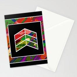 Geometric Fluidity Stationery Cards