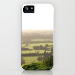 Green Meadow of Ireland iPhone Case