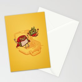 Lunchadores Stationery Cards