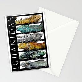 Iguanas of the World Stationery Cards