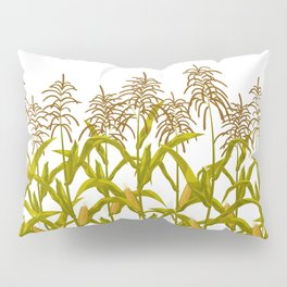 Corn maize pattern Pillow Sham