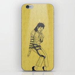 KingOfPop. (gold) iPhone Skin