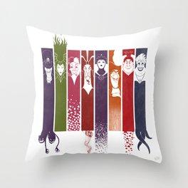 Disney Villains Throw Pillow