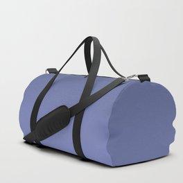 Dusky blue gradient. Ombre. Duffle Bag