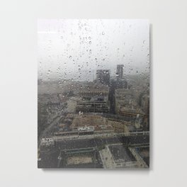 Raining in Rio Metal Print