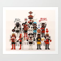 Pretender Collective Art Print
