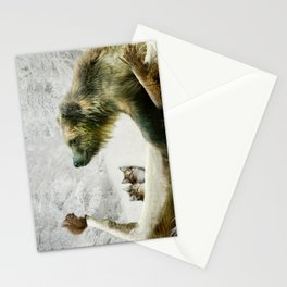 Bear, Squirrel and Kitten Stationery Cards