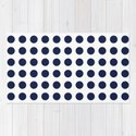 Simply Polka Dots in Nautical Navy Blue by followmeinstead