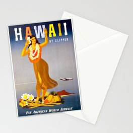 Vintage poster - Hawaii Stationery Cards