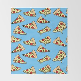 PIZZA HOT Throw Blanket
