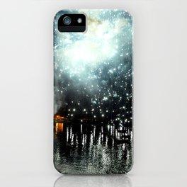 fireworks sea iPhone Case