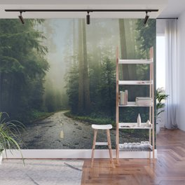 Redwood Forest Adventure - Nature Photography Wall Mural