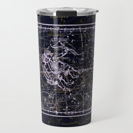 Gemini, Constellation map, Zodiac, Sign sky, Stars, Universe, astrology, astrological, signs, birth Travel Mug