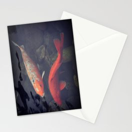 Koi Fish Stationery Cards
