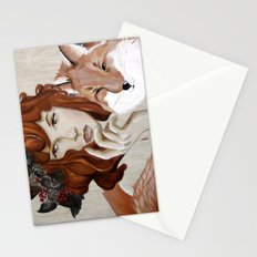 Autumn Fox Stationery Cards