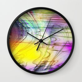 convenient shirt pattern I Wall Clock