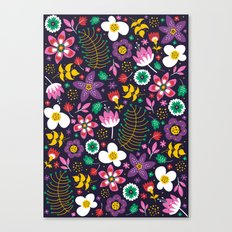 Sweet Viola Canvas Print