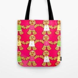 Gingerbread Men and Gingerbread Woman Cookies Tote Bag