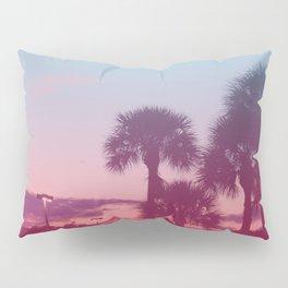 Palm Tree Sunset Pillow Sham