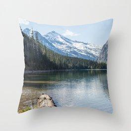 I Lake This View Throw Pillow