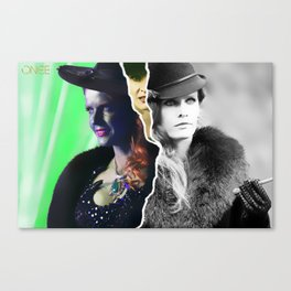 THE WICKED WITCH / ZELENA Canvas Print