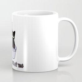 "CAT MIND ""POOP"" Coffee Mug"