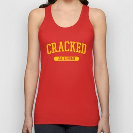 Cracked Alumni Unisex Tank Top