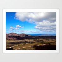 View from Frenchman Peak, Western Australia Art Print