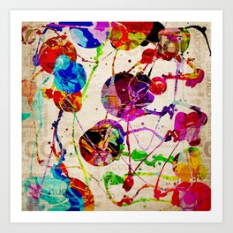 Abstract Expressionism 2 Art Print