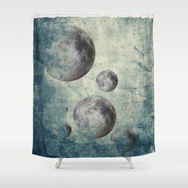 Zen Curriculum Moon Shower Curtain