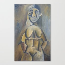Asymetry Nude Canvas Print