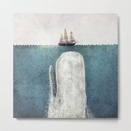 The White Whale Metal Print