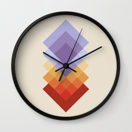 Layer by Layer 2 Wall Clock