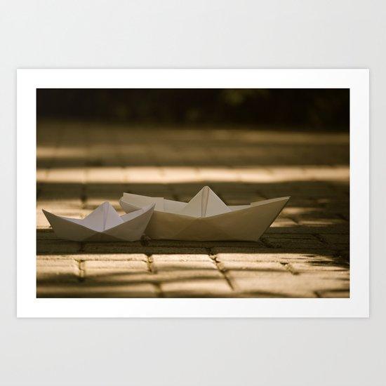 Sail. Art Print
